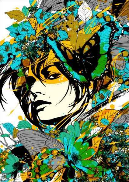 современные японские художники картины