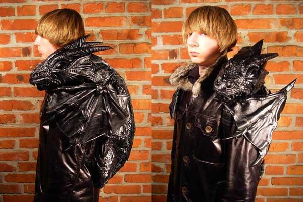 Оригинальный рюкзак в форме дракона