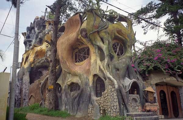Дом вьетнам фестивальная деревня глобал виллидж