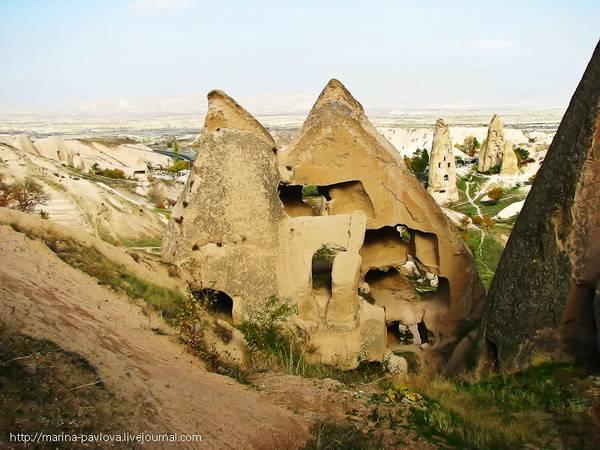 Пещерный город Учхисар Турция