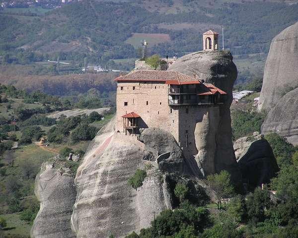 монастыри греции метеоры