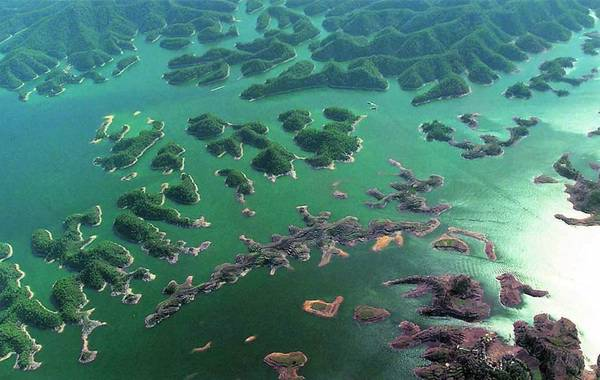 озеро китай