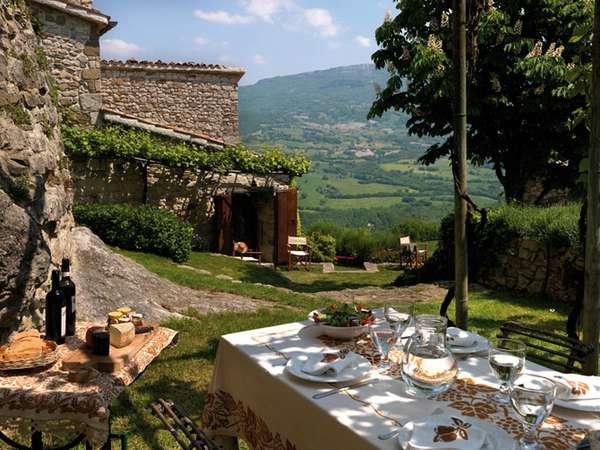 домик в итальянской деревне