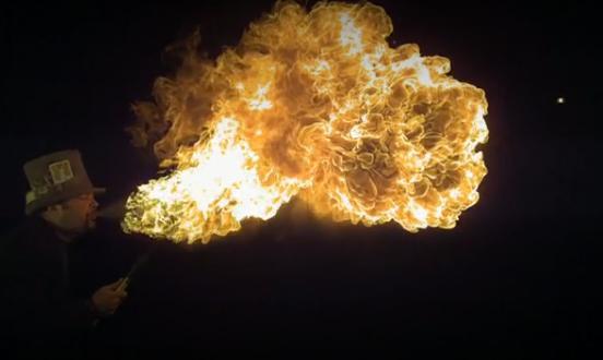 фото огня