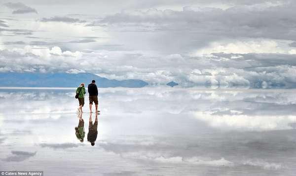 соляное озеро уюни боливия