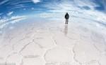Небесное озеро Уюни, Боливия