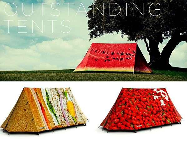 креативный дизайн туристическая палатка