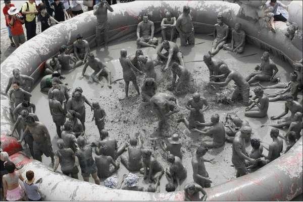 фестиваль грязи южная корея