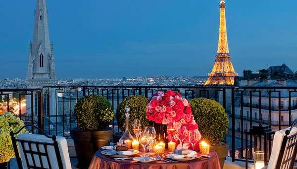 париж отель георг 5