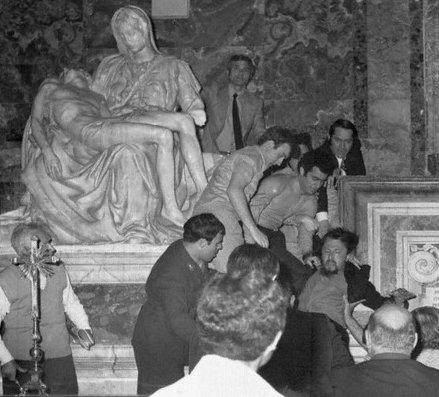 скульптура пьета ватикан