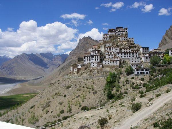 Ki Gompa тибет фото