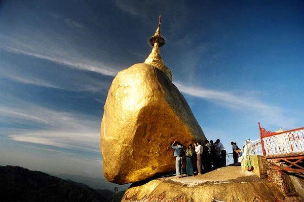 мьянма золотой камень