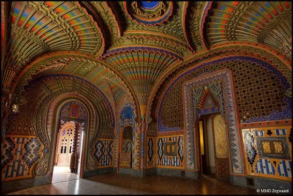 Castello di Sammezzano Peacock Room