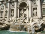 Великолепный фонтан Треви, Рим