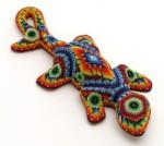 Бисерные фигурки племени Уичоль
