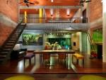 Дизайн интерьера трехэтажного особняка в Малайзии