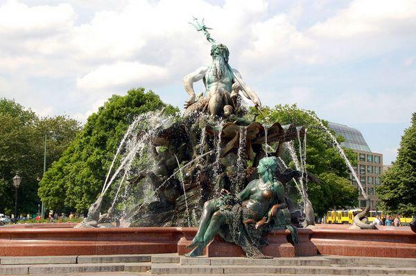 фонтаны фото