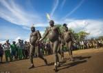 Конкурс толстяков эфиопского племени Боди