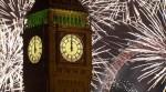 Новогодний фейерверк в Лондоне 2014