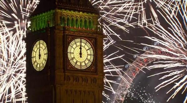 новый год лондон 2014