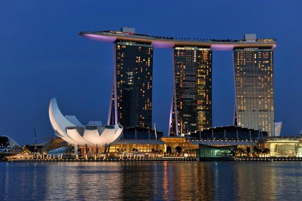 сингапур отель бассейн