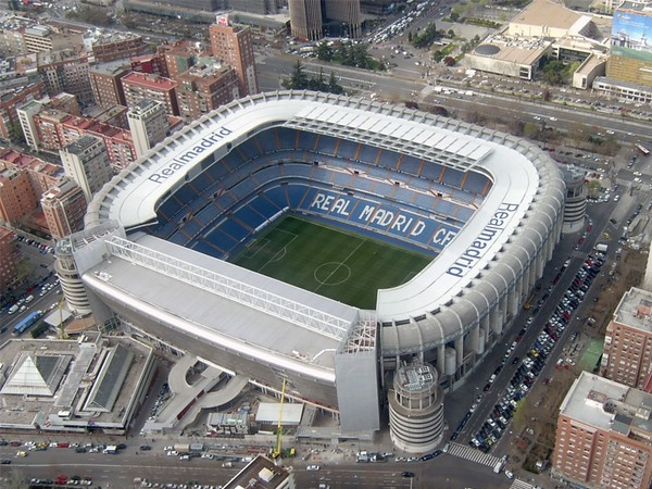 стадион в мадрите фото