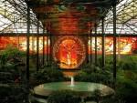 Космовитрал — ботанический сад с витражами в Мексике