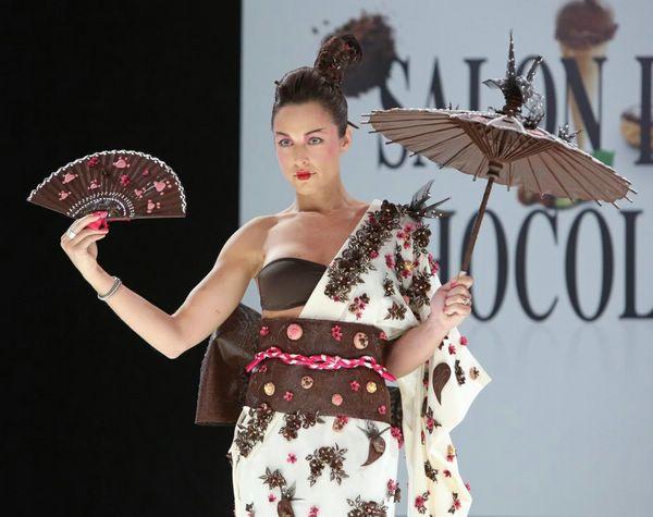 Шоколадная мода Salon du Chocolat