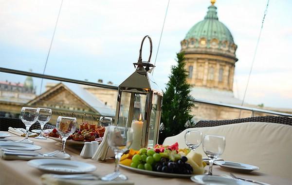 кафе и рестораны санкт-петербурга