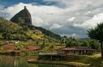 Скала Эль-Пеньон-де-Гуатапе, Колумбия