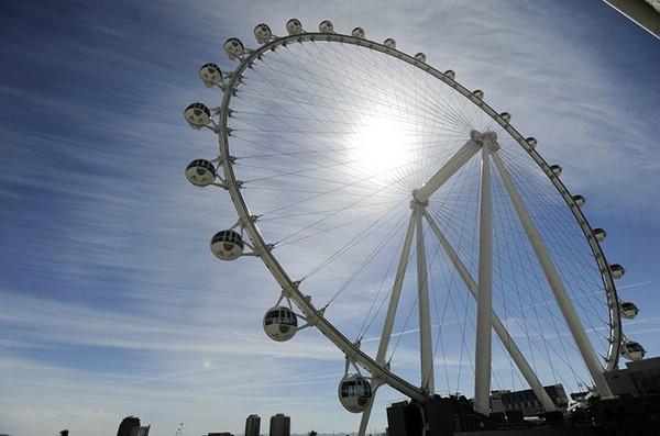 Гигантское колесо обозрения в Лас-Вегасе, США