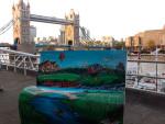 Лондонский арт-проект Книги о городе