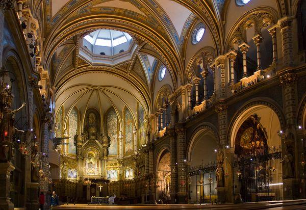 бенедиктинский монастырь монсеррат каталония испания