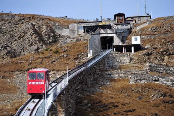 фуникулер Niesenbahn швейцария
