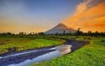 Действующий вулкан Майон, Филиппины