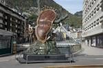 Сальвадор Дали, скульптура «Благородство времени» в Андорре
