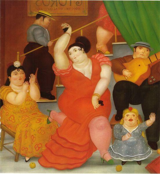 современное искусство фернандо ботеро