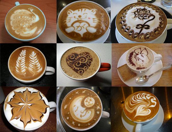 делать рисунок на кофе как валера, поздравляю тебя