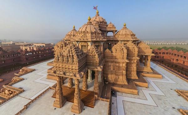 самый большой индуистский храм в мире