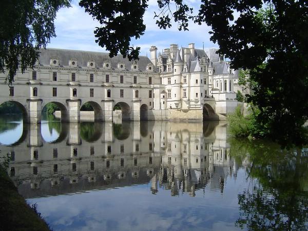 французский замок шенонсо фото