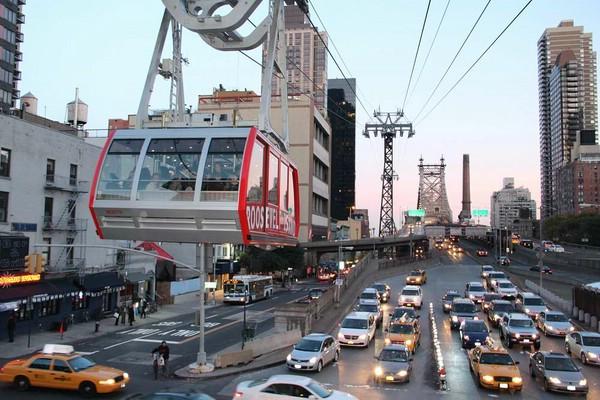 канатная дорога в нью йорке