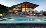 Роскошная резиденция Mont Blanc на горнолыжном курорте Межев, Франция