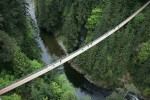 Парк и подвесной мост Капилано в Северном Ванкувере, Канада
