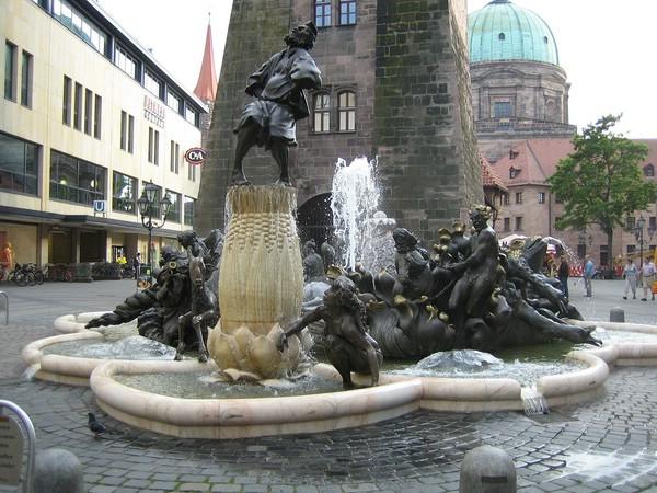 красивый фонтан фото