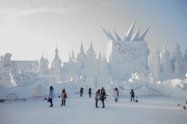 фестиваль льда и снега в харбине фото