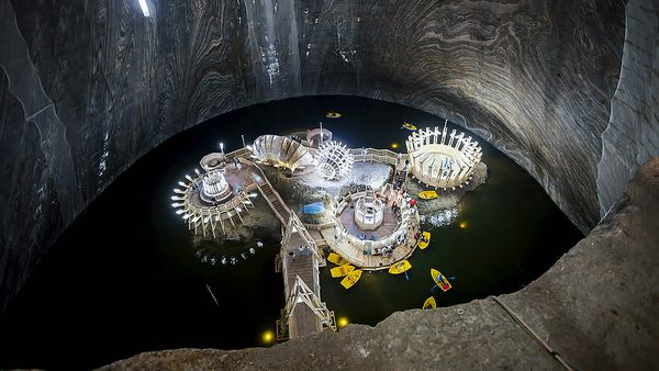 соляные шахты румынии Салина Турда