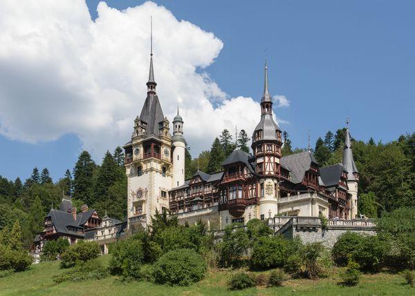 пелеш самые красивые замки румынии