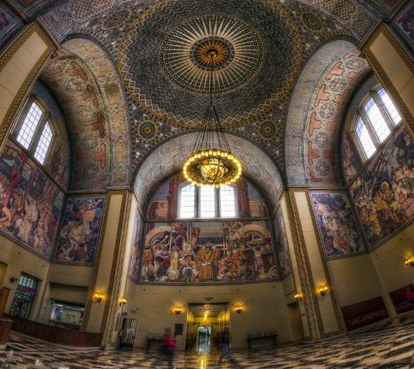 главная библиотека лос-анджелеса