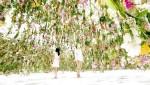 Интерактивный цветочный сад в токийском музее Miraikan