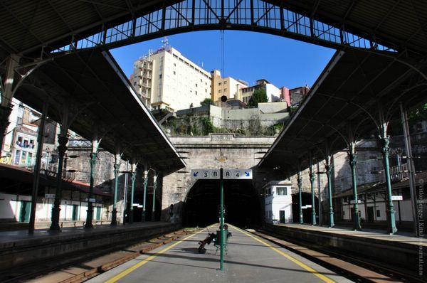 вокзал Сан-Бенту Португалия